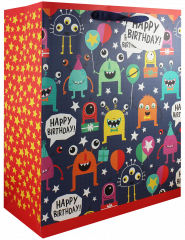 Monster Gift Bag Large W260 x H321 x D121mm