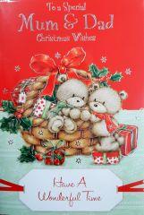 Christmas Card - Mum & Dad