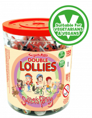 Swizzels 8p Double Lollies - 130 for the price of 120