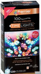 Wholesale 100 Multi Action LED Multi Coloured Lights (Battery Operated)
