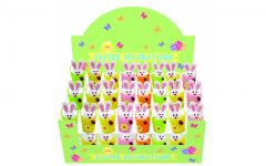 Easter 2 Bunnys In Bucket CDU Assorted Colours