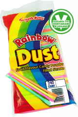 Swizzels 3p Rainbow Dust Straws