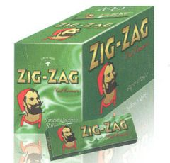 Zig Zag Green Cigarette Rolling Papers