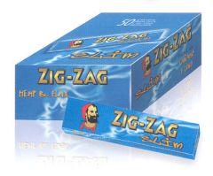 Zig Zag Blue Slim King Size Cigerette Papers