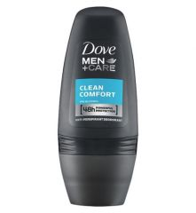 Dove Roll On Deodorant For Men Clean Comfort 50ml