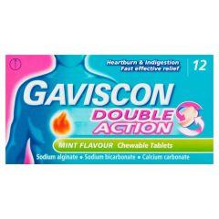 Gaviscon Double Action Tablets 12's