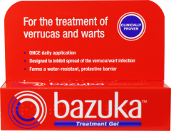 Bazuka Verruca Treatment Gel 6g