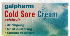 Galpharm Cold Sore Cream 2g