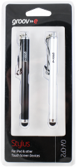 Groov-e Capacitive Stylus For iPad & Touch Screen Devices Twin Pack
