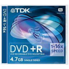 TDK DVD + R Pack 5 Jewel Case 16 x Speed