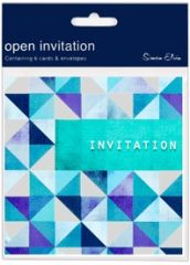 Invitation Open Foil Display Pack 133mm x 133mm