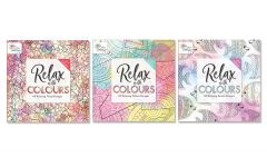 Colouring Book Series Two 3 Assorted Designs