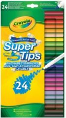 Crayola Supertips Markers 24's Hang Pack