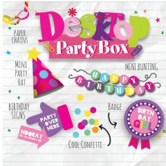 Desk Top Party Pack Female
