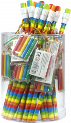 Rainbow Pencil With Mini Crayons