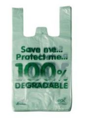 "Biodegradable Carrier Bags 11""x17""x21"""