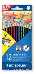 Staedtler 12 Noris Colour Colouring Pencils Hang Pack