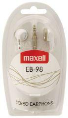 Maxell Earphones EB98 White