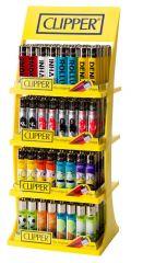Clipper Lighter Assorted Designs CDU (160 + 20 Free)