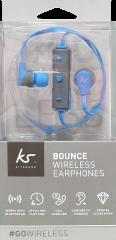 Kitsound Bounce Wireless Earphones Blue