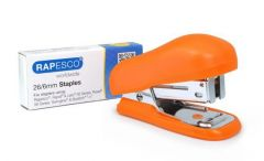 Rapesco Orange Bug Mini Stapler & Staples