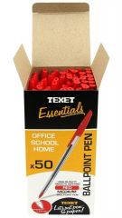 Texet Ballpoint Pen Red