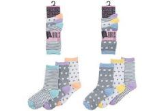 Girls Design Socks 3 Pack