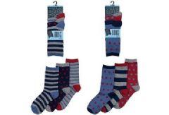 Boys Design Socks 3 Pack