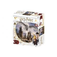 Wholesale Super 3D Harry Potter 500 Piece Jigsaw Puzzle - Hogwarts and Hedwig