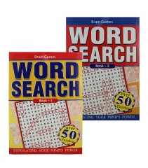 A4 Wordsearch Book 4 Titles
