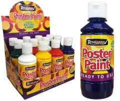 Poster Paint Assorted Colours 250ml CDU
