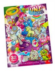 Crayola Unicreatures Colouring Book