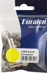Duralon Aerial Connectors 1xM/1xF