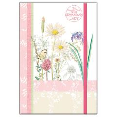 Sunny Meadows A5 Notebook with Lined Pages and Elastic Closure