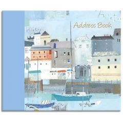 By The Sea 16cm x 14cm Spiral Bound Address Book