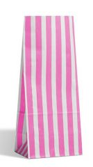 Pink Stripe Pick & Mix Bags Pack of 500