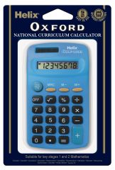 Oxford Basic Calculator Blue