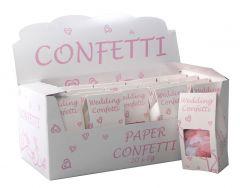 Pink Biodegradable Paper Confetti 10g CDU