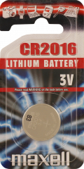Maxell CR2016 Lithium Battery