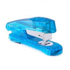 Rapesco Blue Snapper See-Thru Half Strip Stapler