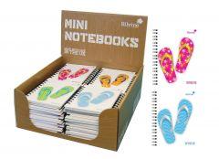 Silvine 101mm x 73mm Mini Notebook Assorted Designs CDU