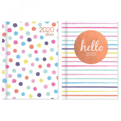2020 Pocket Diary WTV Spots & Stripes with Foil CDU
