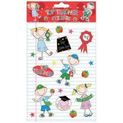 Top Teacher Stickers