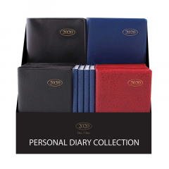 2020 Personal Diary Collection WTV Assorted Colours CDU