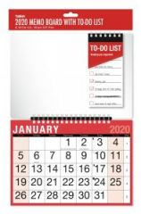 2020 Red & Black Month To View Planner with Pen