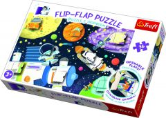 36 Piece Flip Flap Puzzle - Space