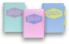 Pukka Pastels Range A4 Project Book