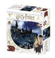 Super 3D Harry Potter 300 Piece Jigsaw Puzzle - Hogwarts