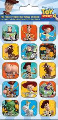 Licensed Character Stickers Small Foil Packs - Toy Story 4 Captions