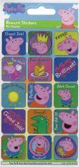 Licensed Character Reward Stickers - Peppa Pig